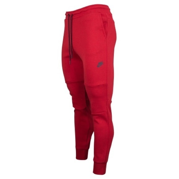 Tech Nike Pants Poshmark Fleece Red WgWqrpOTn